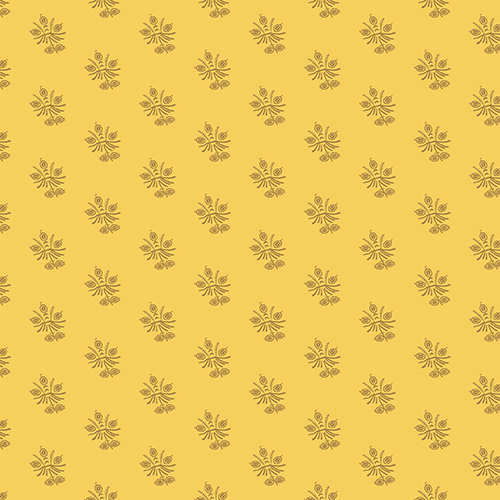 Margos Mignonettes A-7794-Y by Margo Krager for Andover Fabrics