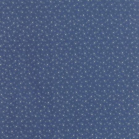 Polka Dot Paisleys Faded Blue 14804 17