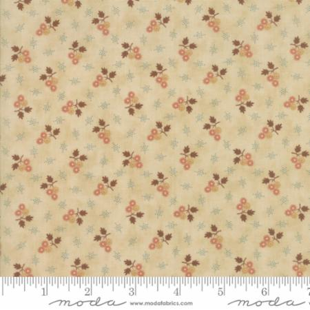Jo Morton Reproduction Star Flower Pink